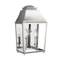 Feiss Galloway 2 Light Vanity in Polished Nickel with White Stainless Steel Shade WB1813PN