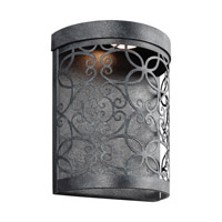 Feiss Arramore LED Outdoor Wall Lantern in Dark Weathered Zinc WB1814DWZ-LED