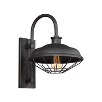 Feiss WB1828SGM Lennex 1 Light 17 inch Slated Grey Metal Outdoor Wall Lantern