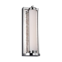 Khoury LED 5 inch Chrome Vanity Light Wall Light