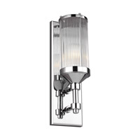 Paulson 1 Light 5 inch Chrome Vanity Light Wall Light
