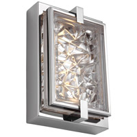 Erin LED 6 inch Polished Stainless Steel Vanity Light Wall Light