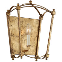 Feiss WB1960ADB Thayer 1 Light 10 inch Antique Gild Wall Sconce Wall Light