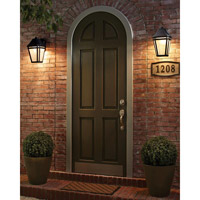 Feiss OL11301BK-LED Londontowne 3 Light 14 inch Black Outdoor Wall Sconce in Integrated LED  alternative photo thumbnail
