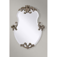 Feiss Venice Mirror in Antiqued Silver Leaf MR1112ASL
