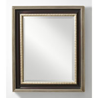 Feiss Boyd Mirror in Mahogany  and Antique Silver MR1113MHG/ASL