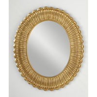 Feiss Emmet Mirror in Pale Antique Gold MR1118PAG