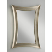 Feiss Georgette Mirror in Antique Silver Leaf MR1122ASLF