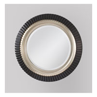 Feiss Geary Mirror in Black and Silver MR1124BK/SV