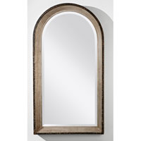 Feiss Archie Mirror in Antique Silver Leaf MR1125ASLF
