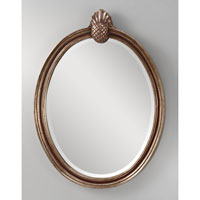 Feiss MR1139MHG/ASL Louise 33 X 24 inch Mahogany  and Antique Silver Wall Mirror Home Decor alternative photo thumbnail