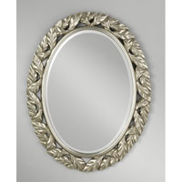 Feiss Leaves Mirror in Antique Silver Leaf MR1143ASLF