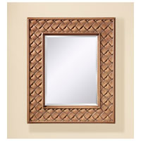 Feiss Crisfield Mirror in Buttercream Crackle MR1169BCC