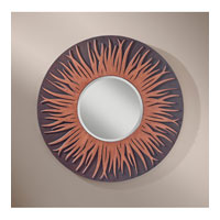 Feiss Fiamma Mirror in Two Tone Wood MR1176TTW