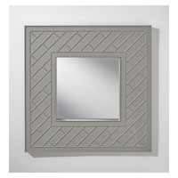 Feiss Trellis Mirror in High Gloss Grey MR1182HGG