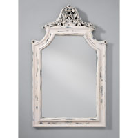 Feiss Signature Mirror in Hand Painted White MR1189HPW