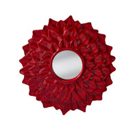 Feiss Ambrosia Mirror in Crimson Lacquer MR1215CRML