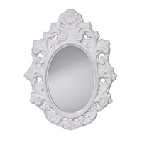 Feiss Resplendent Mirror in High Gloss White MR1226HGW