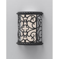Feiss Costa Del Luz 1 Light Outdoor Wall Sconce in Black ODWB4820BK