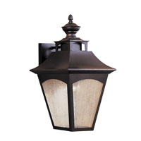 Feiss Homestead 1 Light Outdoor Wall Sconce in Oil Rubbed Bronze OL1002ORB