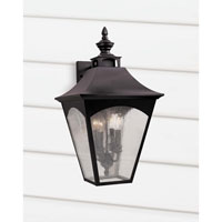 Feiss Homestead 4 Light Outdoor Wall Sconce in Oil Rubbed Bronze OL1004ORB