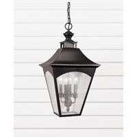 Feiss Homestead 4 Light Outdoor Hanging Lantern in Oil Rubbed Bronze OL1011ORB
