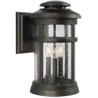 Feiss OL14302ANBZ Newport 16 inch Antique Bronze Outdoor Wall Lantern