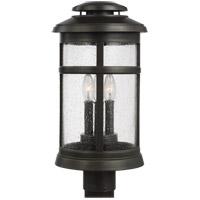 Feiss OL14307ANBZ Newport 19 inch Antique Bronze Post Lantern