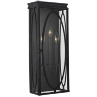 Feiss OL14310DWZ Patrice 23 inch Dark Weathered Zinc Outdoor Wall Lantern