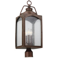 Feiss OL14373CO Randhurst 24 inch Copper Oxide Post Lantern