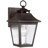 Feiss OL14401SBL Galena 11 inch Sable Outdoor Wall Lantern