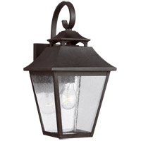 Feiss OL14402SBL Galena 16 inch Sable Outdoor Wall Lantern