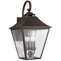 Feiss OL14404SBL Galena 25 inch Sable Outdoor Wall Lantern