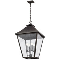 Feiss OL14409SBL Galena 18 inch Sable Outdoor Hanging Lantern