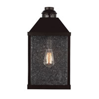 Feiss Lumiere 1 Light Outdoor Lantern Wall Sconce in Oil Rubbed Bronze OL18002ORB