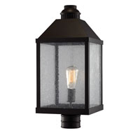 Feiss Lumiere 1 Light Outdoor Lantern Post Mount in Oil Rubbed Bronze OL18010ORB
