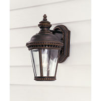 Feiss Castle 1 Light Outdoor Wall Sconce in Grecian Bronze OL1900GBZ