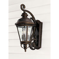 Feiss Castle 3 Light Outdoor Wall Sconce in Grecian Bronze OL1901GBZ