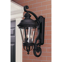Feiss Castle 4 Light Outdoor Wall Sconce in Black  OL1904BK alternative photo thumbnail
