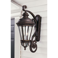Feiss Castle 4 Light Outdoor Wall Sconce in Grecian Bronze OL1904GBZ