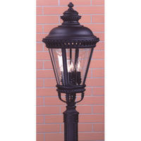 Feiss Castle 4 Light Post Lantern in Black  OL1908BK