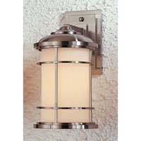 Feiss Lighthouse 1 Light Outdoor Wall Sconce in Brushed Steel OL2202BS