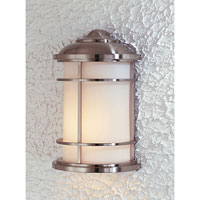 Feiss Lighthouse 1 Light Outdoor Wall Sconce in Brushed Steel OL2203BS alternative photo thumbnail