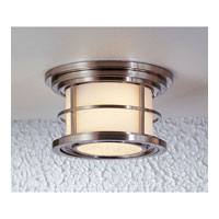 Feiss Lighthouse 2 Light Outdoor Flush Mount in Brushed Steel OL2213BS