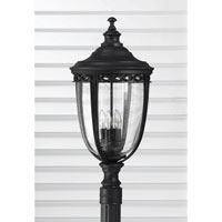 Feiss English Bridle 4 Light Post Lantern in Black OL3009BK
