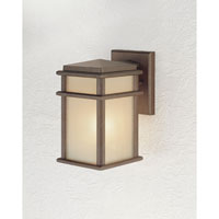 Feiss Mission Lodge 1 Light Outdoor Wall Sconce in Corinthian Bronze OL3400CB