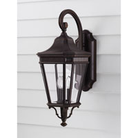 Feiss OL5402GBZ Cotswold Lane 3 Light 24 inch Grecian Bronze Outdoor Wall Sconce alternative photo thumbnail