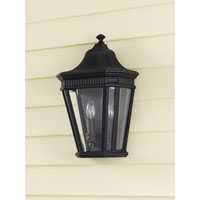 Feiss Cotswold Lane 2 Light Outdoor Wall Sconce in Black OL5403BK alternative photo thumbnail