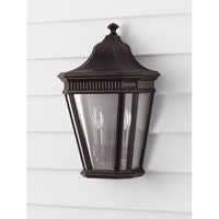 Feiss Cotswold Lane 2 Light Outdoor Wall Sconce in Grecian Bronze OL5403GBZ