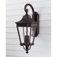 Feiss OL5404GBZ Cotswold Lane 3 Light 30 inch Grecian Bronze Outdoor Wall Sconce in Standard alternative photo thumbnail